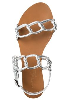 Pastelle - MILA - Sandaler - sølv Sandals, Fashion, Moda, Shoes Sandals, Fashion Styles, Fashion Illustrations, Sandal