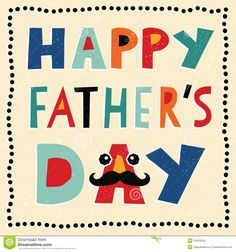Happy Fathers Day Card With Hand Made Text - Download From Over 41 Million High Quality Stock Photos, Images, Vectors. Sign up for FREE today. Image: 44233245