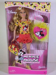 Barbie Doll 2005 Minnie Mouse Disney | eBay