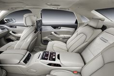 Audi A8 2013. What a car! Has the spaces to put a stealth system & trunk has room enough for some amazing sub woofers.