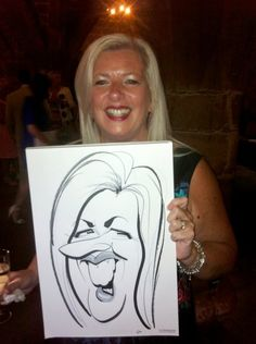 Caricatures at Coventry Guildhall