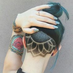 Girls with undercuts are taking over Instagram - Yahoo Style Singapore