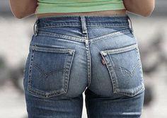 The Levi's Jeans Palace Curvy Jeans, Sexy Jeans, Jeans Fit, Jeans Pants, Skinny Jeans, Patched Jeans, Levis Jeans, Denim Attire, Leather Jeans