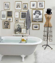 Kleines Bad gestalten und kreativ dekorieren - inspirierende Beispiele