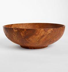 Teak Wood Bowl  E3318