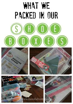Operation Christmas Child | What we packed in our shoe boxes #occboxes