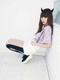鈴木えみさんのTシャツ・カットソー「bodysong. グラフィックTシャツ」を使ったコーディネート