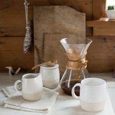Potters Dinnerware - Cream & Sugar Set | New Dining + Kitchen | NEW