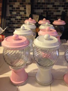 Gumball machine party favor idea
