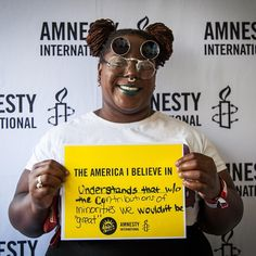 What does the America you believe in look like? Come by our tent at #Afropunk…