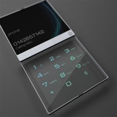 The Dual pane transparent LCD by Mac Funamizu is a neat conceptual design where two separate LCDs are just overlapped. This gives us a sense of depth making the images or text on the LCD look 3D. This is a great idea for future mobile phones.