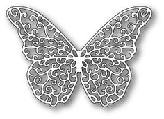 Poppystamps die - Princess Butterfly