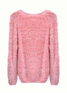 Kupuj mé předměty na #vinted http://www.vinted.cz/damske-obleceni/svetry/18459441-pink-fluffy-jumper-chundelaty-svetr