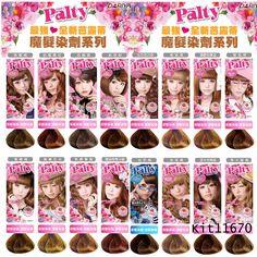 Palty Hair Dye Anese Color Korean Gyaru