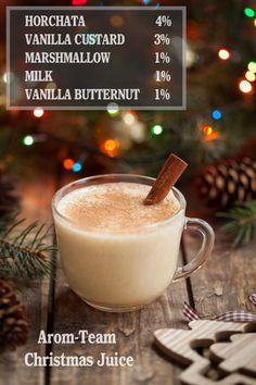 Une recette e liquide de Noël !! #vape #ecig #diy #recette