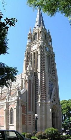 I passed by it everyday… Visit Argentina, Argentina Travel, Amazing Places On Earth, Beautiful Places, Chile, Art Nouveau Arquitectura, Vintage Architecture, Equador, Cathedral Church