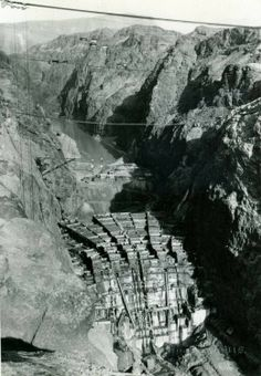 How the Hoover Dam was built