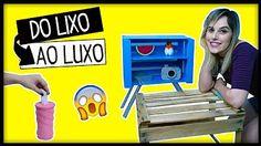 DIY: Do LIXO ao LUXO #13- IDEIAS INCRÍVEIS PRA TENTAR EM CASA - YouTube