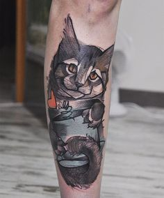 16 Majestic Small Cat Tattoos For Cat Lovers - Small Tattoos Blog for Men and Women