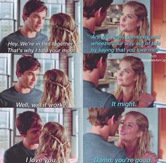 WHY DID THEY HAVE TO BREAK UP IN SEASON 3??? Haleb is seriously goals. #endgame
