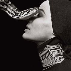 Veruschka von Lehndorff  by Richard Avedon, 1960s