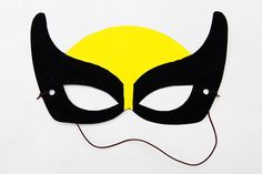 Print and decorate these four free printable mask templates into awesome paper superhero masks. You can also use the mask templates as patterns for crafting superhero felt or fabric masks. Fun Projects For Kids, Fun Crafts For Kids, Art Projects, Summer Crafts, Kids Fun, Printable Crafts, Templates Printable Free, Printable Paper, Superhero Mask Template