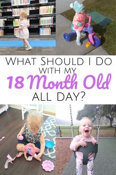 Essential tips and ideas for your 18 month old's daily routine. Establishing a routine is essential for toddlers! Learn how to create the best routine. Young Toddler Activities, 18 Month Old Activities, Parenting Toddlers, Toddler Play, Toddler Snacks, Infant Activities, Baby Play, Infant Toddler, Parenting Advice