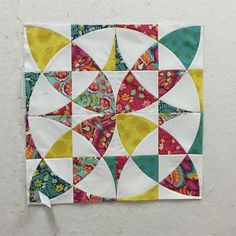 Got one block put together. Looking good so far. #chiccountryquilt #qcr #paulinelovestoquilt @down.patchwork.lane