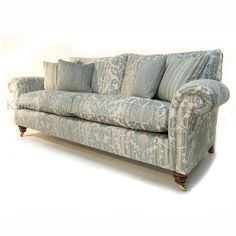 Duresta Belvedere 3 Seater and Gents Chair in Cleremont Mille Fleurs Fabric. Sofa 228cm Wide x 96 Height x 107cm Depth. In as new condition and for immediate delivery. Manufactured to the highest standards by Derbyshire's premier upholstery manufacturer. Triple doweled with mesh top coil sprung seat units in all pieces. £3998 now £ 2699 http://www.kingsinteriors.co.uk/clearance/duresta-belvedere-3-seater-and-gents-chair-in-cleremont-mille-fleurs-fabric