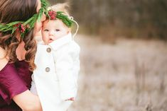Mom and daughter photo. Girls Dresses, Flower Girl Dresses, Floral Crowns, Daughter, Mom, Wedding Dresses, Flowers, Photography, Beautiful