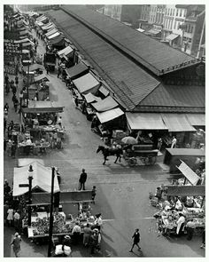 Lexington Market, Baltimore, MD. 1927****The World Famous since 1782