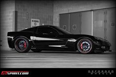 Nothing sweeter than a black Vette