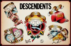 DESCENDENTS Tattoo flash