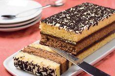 Napolitain maison, gâteau très délicieux & facile à faire