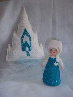 Elsa e seu Castelo de Gelo