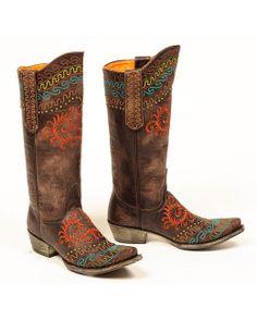 Old Gringo Women's Zarape Boot - Chocolate