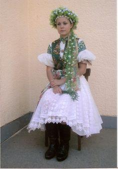 Lubina, Považie, Slovakia Folk Costume, Costumes, Amazing People, Ukraine, The Incredibles, Culture, Beautiful, Dresses, Fashion