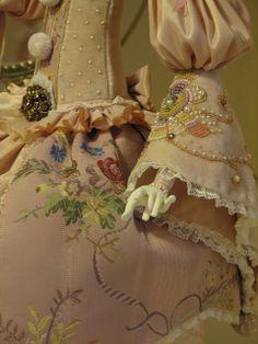 Кукольная мастерская ANNADAN: ЮННА-РОЗОВЫЙ ЖЕМЧУГ