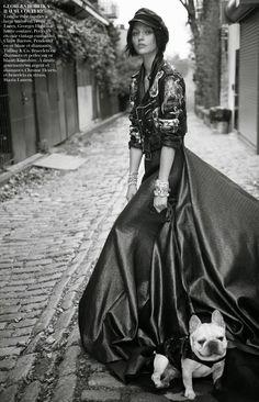 Sasha Pivovarova for Vogue Paris November 2014