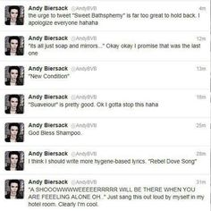 lolololol im dying of laughter! XDD andy is such a dork sometimes....