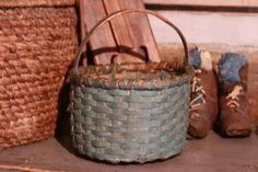 Small Prim Blue Basket...