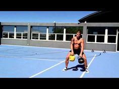 SixPack Abs Kettlebell Workout (+playlist)