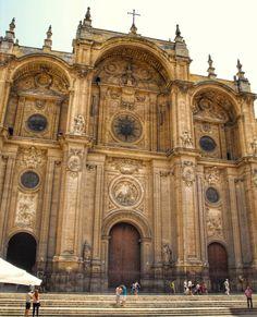 Catedral de Granada: fachada de Alonso Cano (1667)