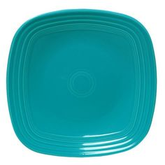 Fiesta Turquoise Square Dinner Plate - Set of 4
