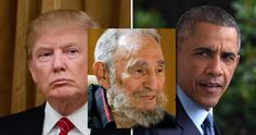 If you need to see the difference in how Trump and Obama view the legacy of brutal dictators, look no further than their statement marking the death of former Cuban leader, Fidel Castro. Fidel Cast…