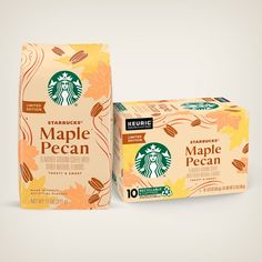 Flavored Coffees | Starbucks® Coffee at Home Coffee Packaging, Food Packaging, Product Packaging, Coffee Recipes, Pumpkin Recipes, Roasting Coffee At Home, Eggnog Drinks, Cinnamon Dolce, Five Spice Powder