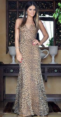 Iorane vestido de oncinha com a Thassia Naves
