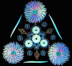Bei diesen funkelnden Mandalas handelt es sich nicht um Kristalle, sondern winzig kleine Kieselalgen | The Creators Project