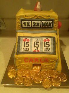 Cake It From Me: Slot machine cake