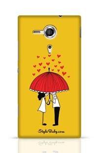 Love Couple Sony Xperia SP Phone Case